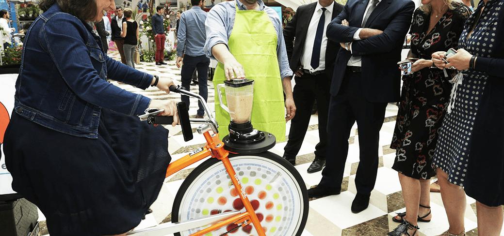Animation Vélo Smoothie en entreprise