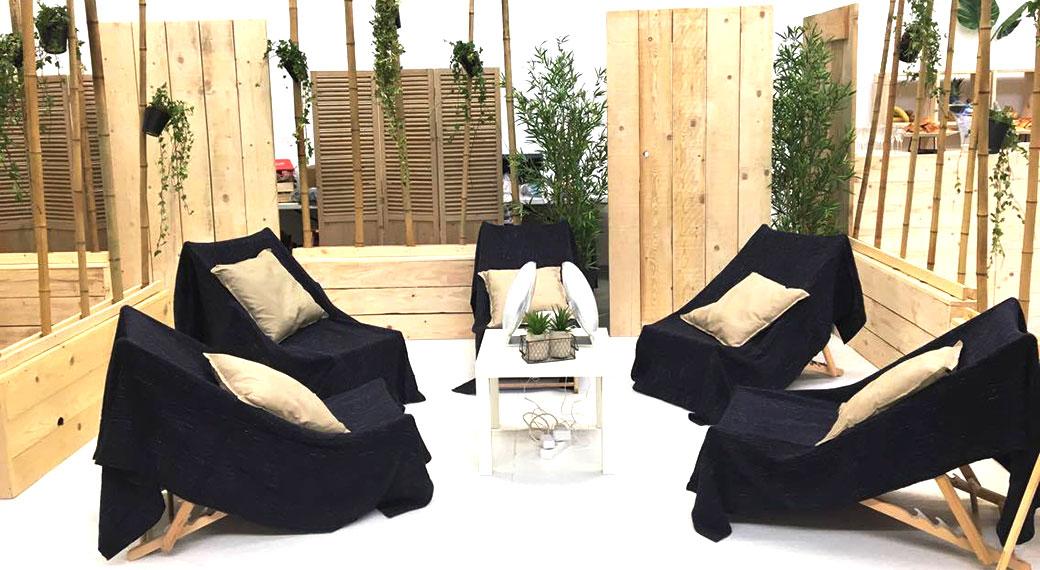 Espace 5 sens en entreprise - Pass-Zen Event
