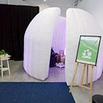 Bulle zen en entreprise, bien-être, espace détente - Pass-Zen Event