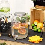 Animation bar à eaux vitaminées