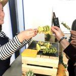 Animation bar à fruits frais, livraison de fruits entreprise